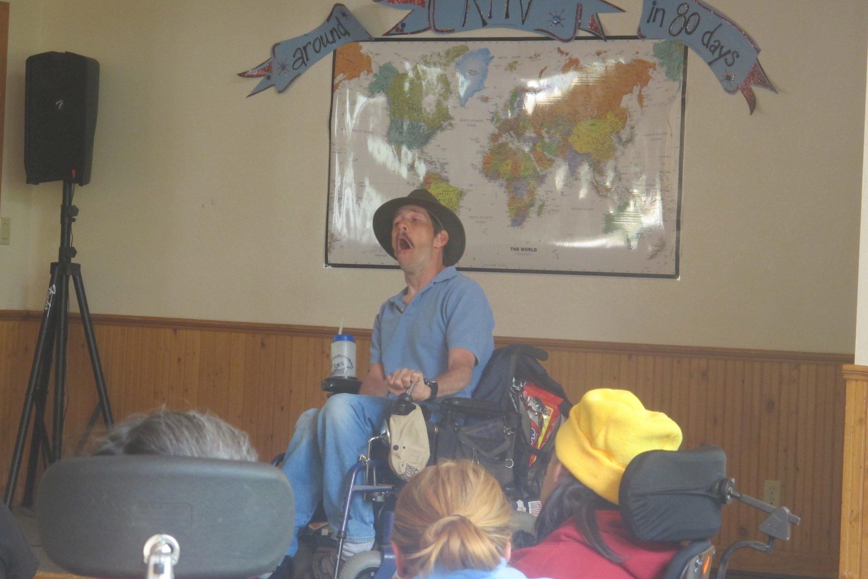 Dan Sharing His Story